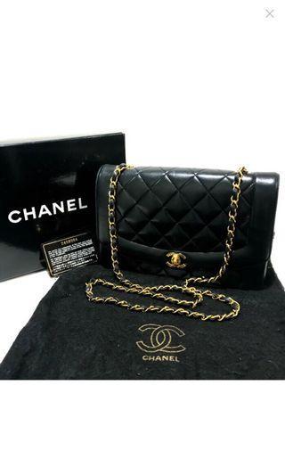 Chanel vintage bag classic Diana