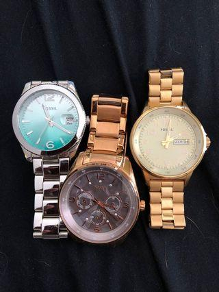 FOSSIL Authentic Analog Watches (women's)