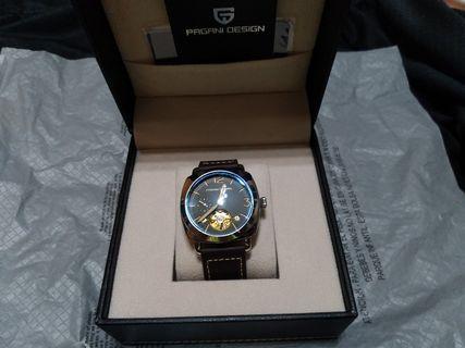 pagani design  帕加尼手錶  風神超跑 沛納海造型款 小沛