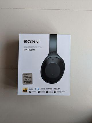 4ad9821f11f Preloved Noise Cancelling wireless headphones (Condition 8/10) Sony MDR1000X