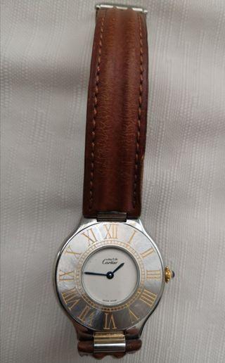 Cartier男裝古董手錶。Vintage Cartier men's watch.