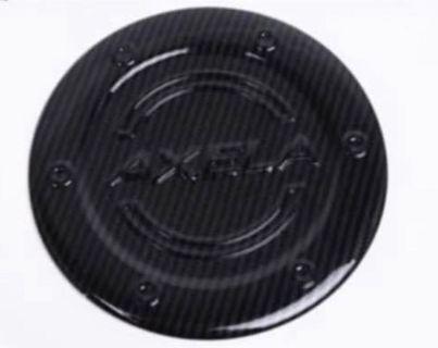 Mazda 3 carbon fiber fuel tank cover
