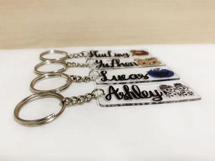 Cute Personalised Keychains