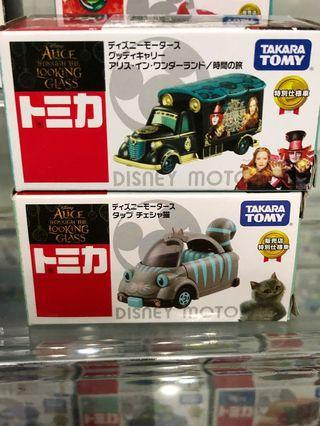 Tomica Disney Alice in wonderland 2架