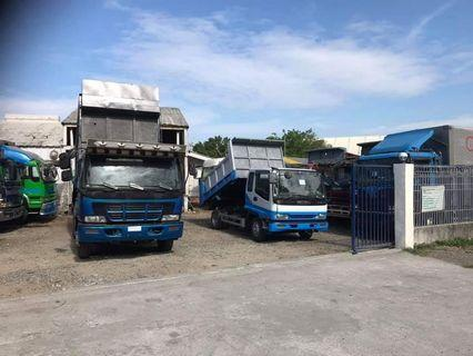 Japan surplus Trucks at subic