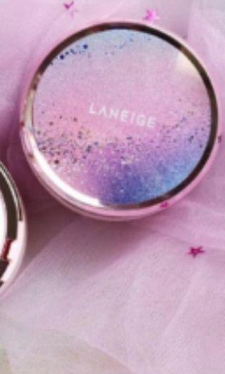 Laneige Limited Pink Cushion Cover