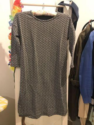 MANGO Shift Dress