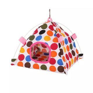 🚚 Bird parrot hamster canvas hammock hanging tent