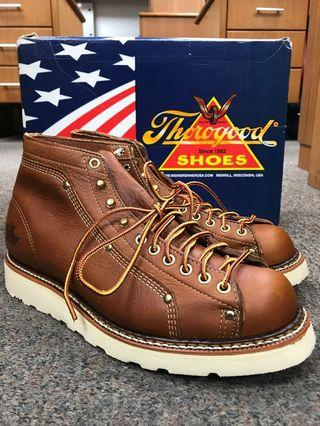 Thorogood Classic Roofer 6inch US8EE Brown Leather {discontinued}