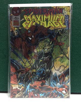Spider-Man Maximum Clonage Omega (Marvel Comics)