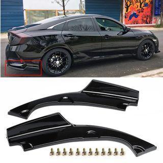 Honda Civic FC Rear Splitters
