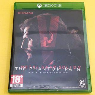 XBOX ONE Metal Gear Solid Phantom Pain MGS with map