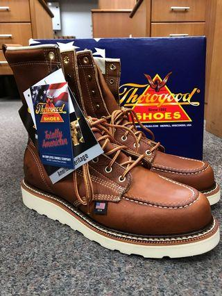 Thorogood Classic MOC 8inch US9D Brown Leather