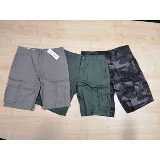 Short Cargo Pants. Seluar Pendek