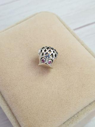 Owl Sterling 925 Silver Charm Bird Openwork Fits Pandora #endgameyourexcess