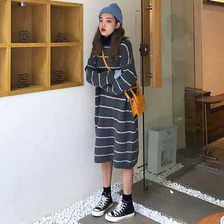 sweater dress针织连衣裙