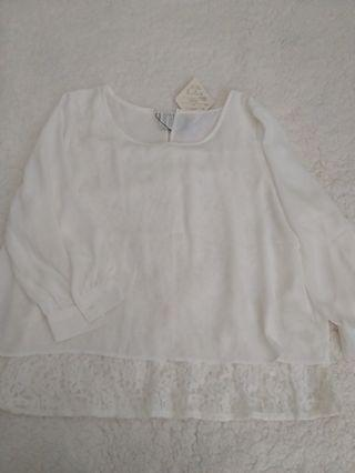 White Top with Inner