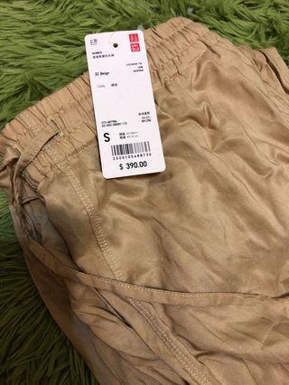 🚚 Uniqlo 垂墜風寬版長褲