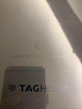 master & dynamic for tag heuer
