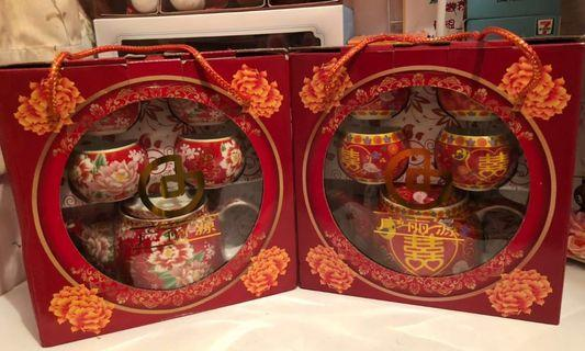 婚禮用品 結婚物資 敬茶茶具(一套價錢)