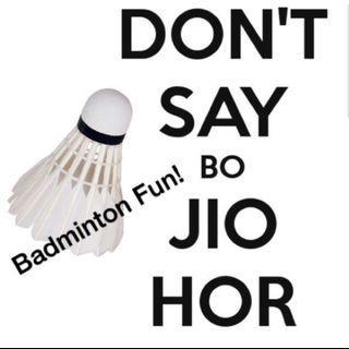 Badminton @ Hougang
