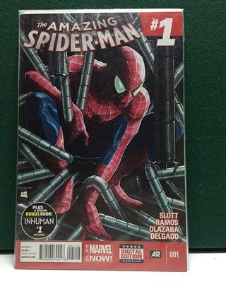 Amazing Spider-Man #1 (2014 vol 3 2nd printing) marvel comics