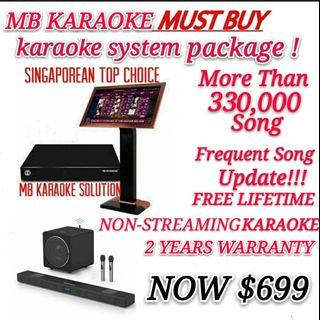 MB KARAOKE FULL PACKAGE