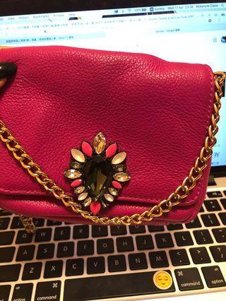 Juicy couture mini chain bag