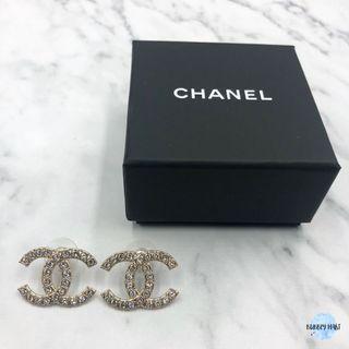 Chanel 閃石耳環