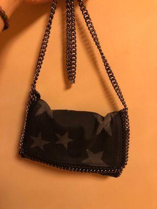 Stella McCartney star print China bag