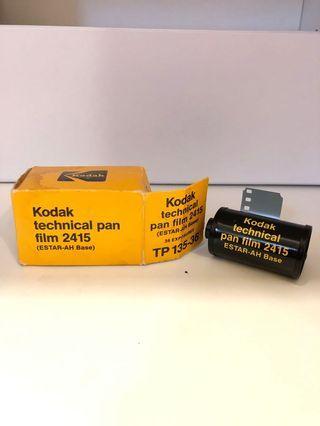 Expired Kodak technical pan film 2415 35mm