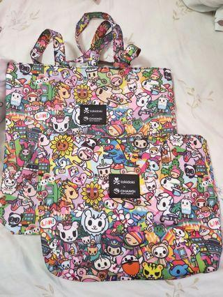 🚚 Tokidoki x Changi Mother daughter bag