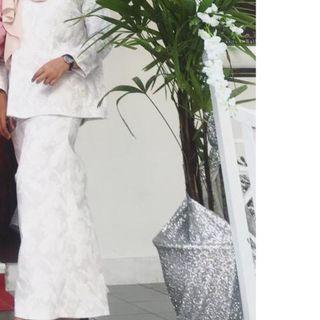 Mek kembang cotton baju kurung