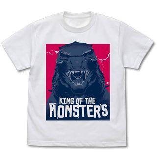 [PO] GODZILLA K.O.M. Godzilla Head T-shirt WHITE