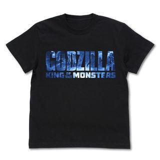[PO] GODZILLA K.O.M. Godzilla Logo T-shirt BLACK