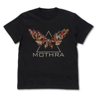 [PO] GODZILLA K.O.M. Mothra T-shirt BLACK