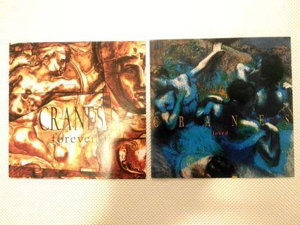 """Cranes """"Forever"""" """"Loved"""" 2CDs"""