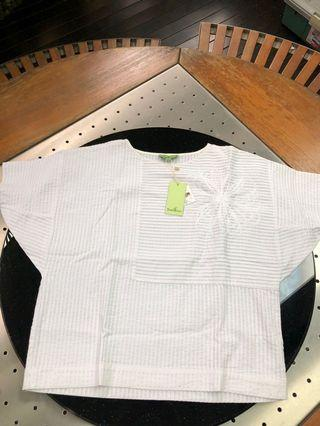 BNWT Bamboo White Top (Size S)