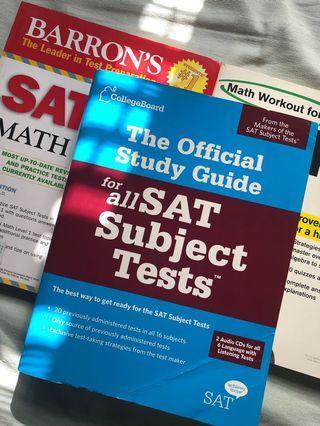 SAT Subject Test Books