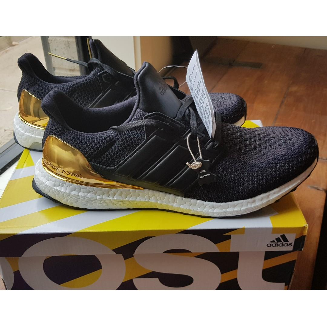 Adidas Ultra Boost Gold Medal (US11, UK10.5) - BRAND NEW