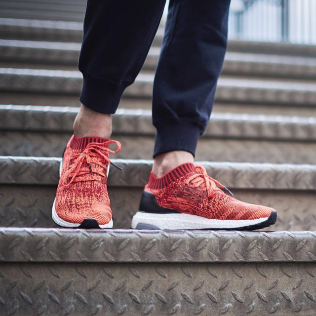 cheap for discount 91d69 77dfb adidas Ultra Boost Uncaged Scarlet Red, Men s Fashion, Footwear, Sneakers  on Carousell