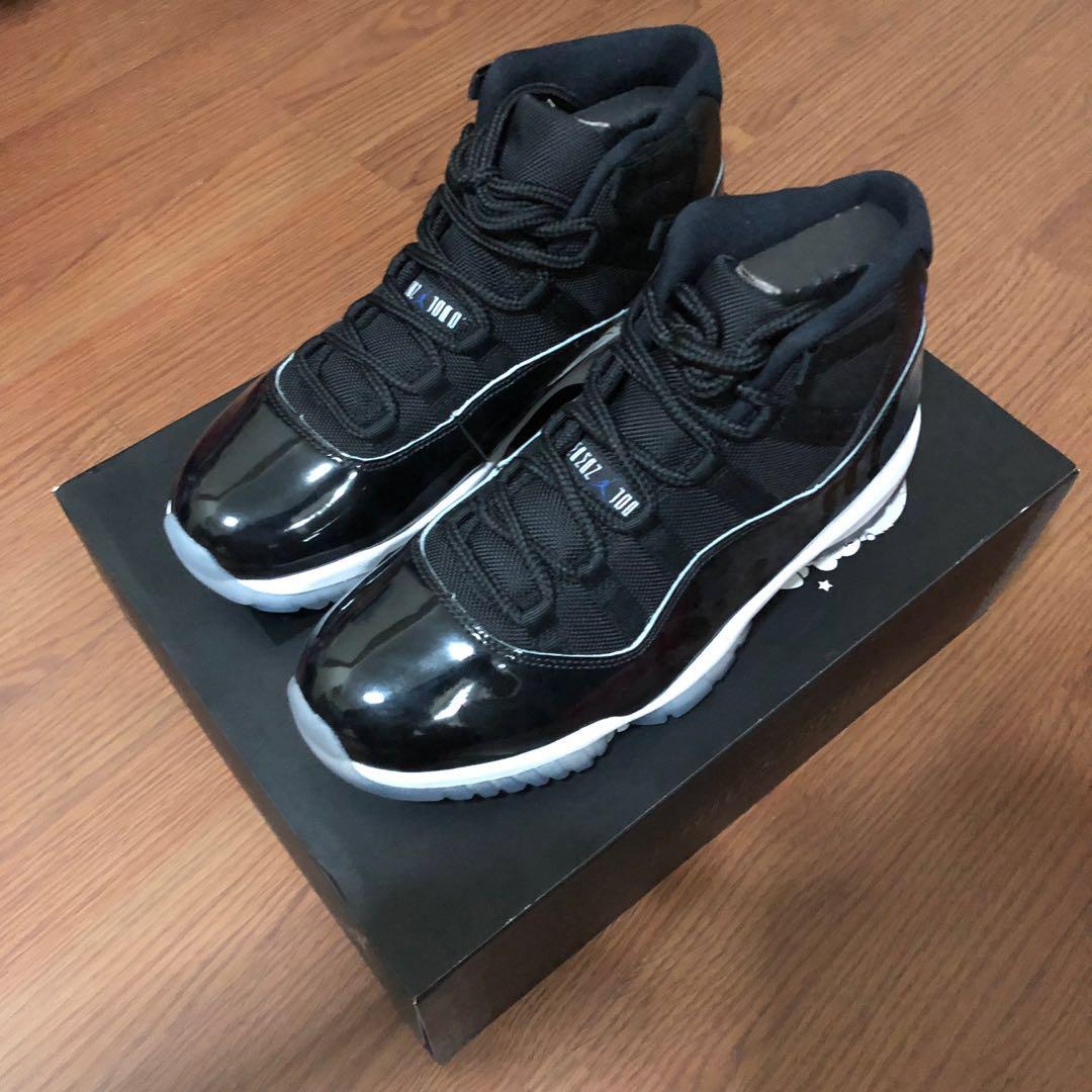 91b4e8bf169 Air Jordan 11 SpaceJam 9.5us, Men's Fashion, Footwear, Sneakers on ...
