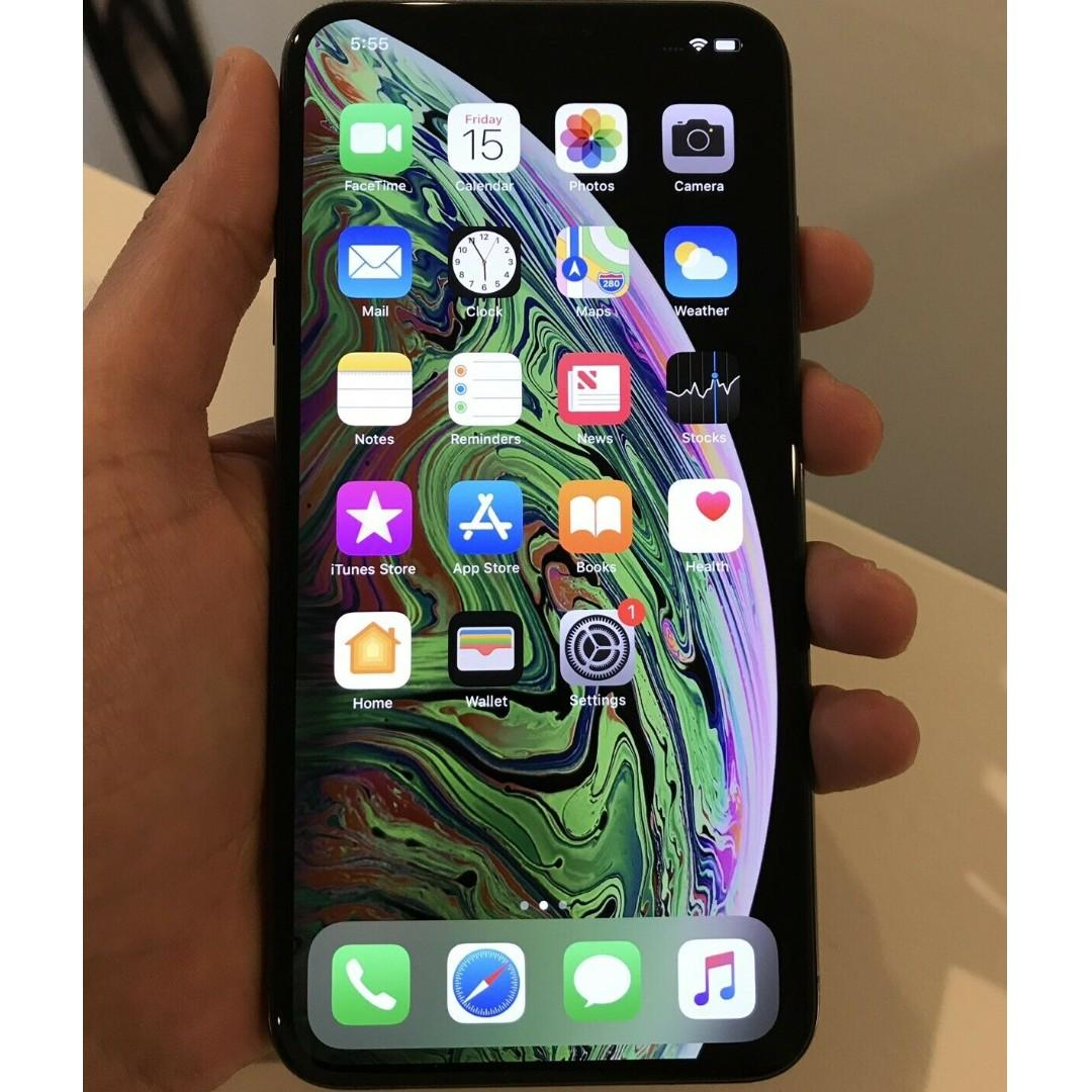 Apple iPhone XS Max - 256 GB - Space Grey(Unlocked) A2101 (GSM) (AU Stock)
