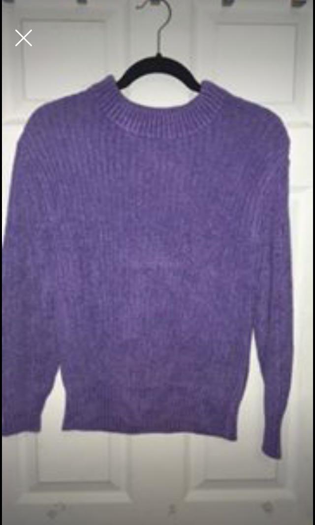 Aritzia Knit Crew Sweater