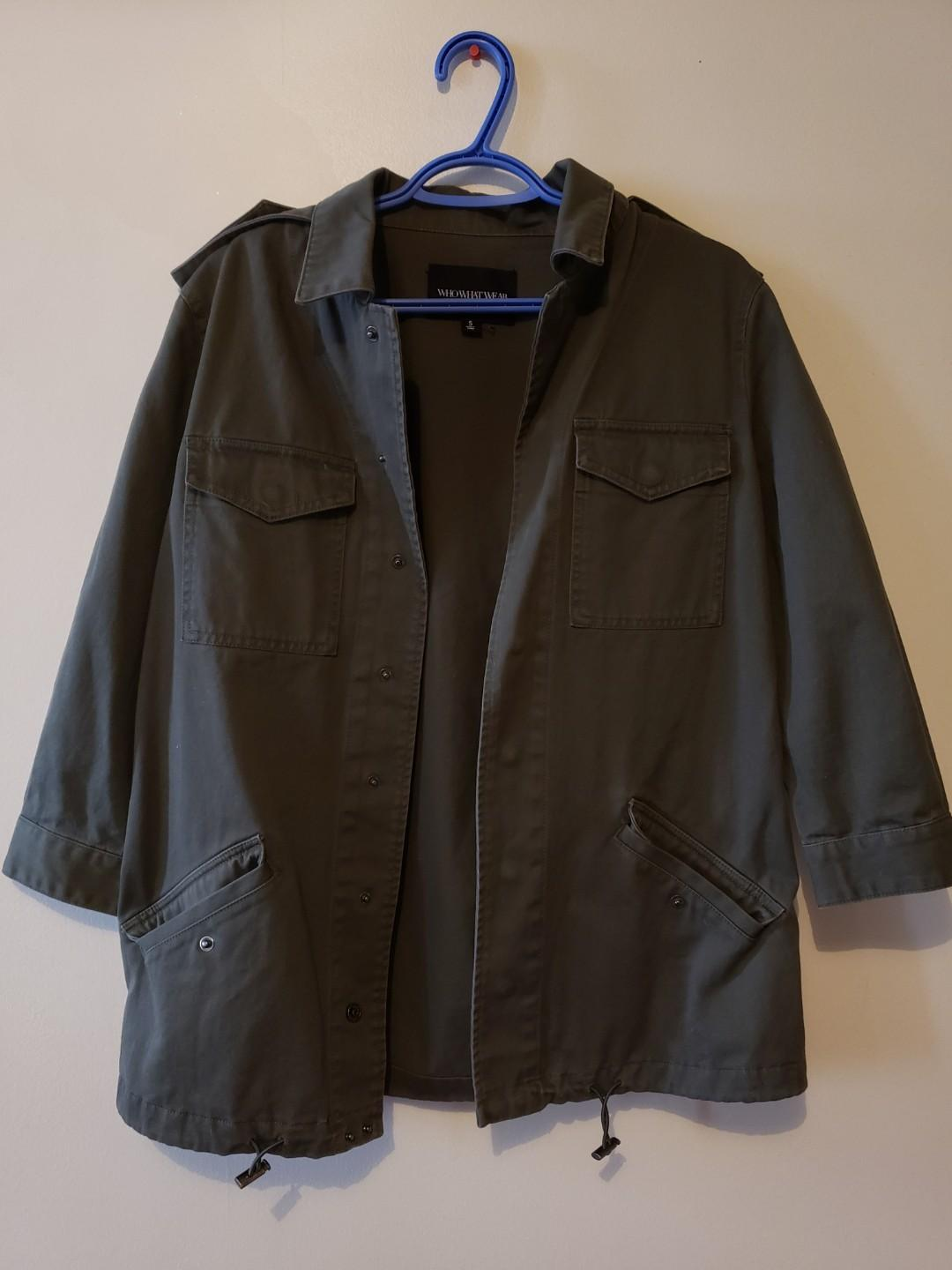 ARMY GREEN SPRING JACKET
