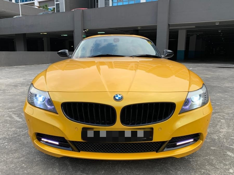 Bmw Z4 Sportscar Tastefully Done Up With Legal Modifications For