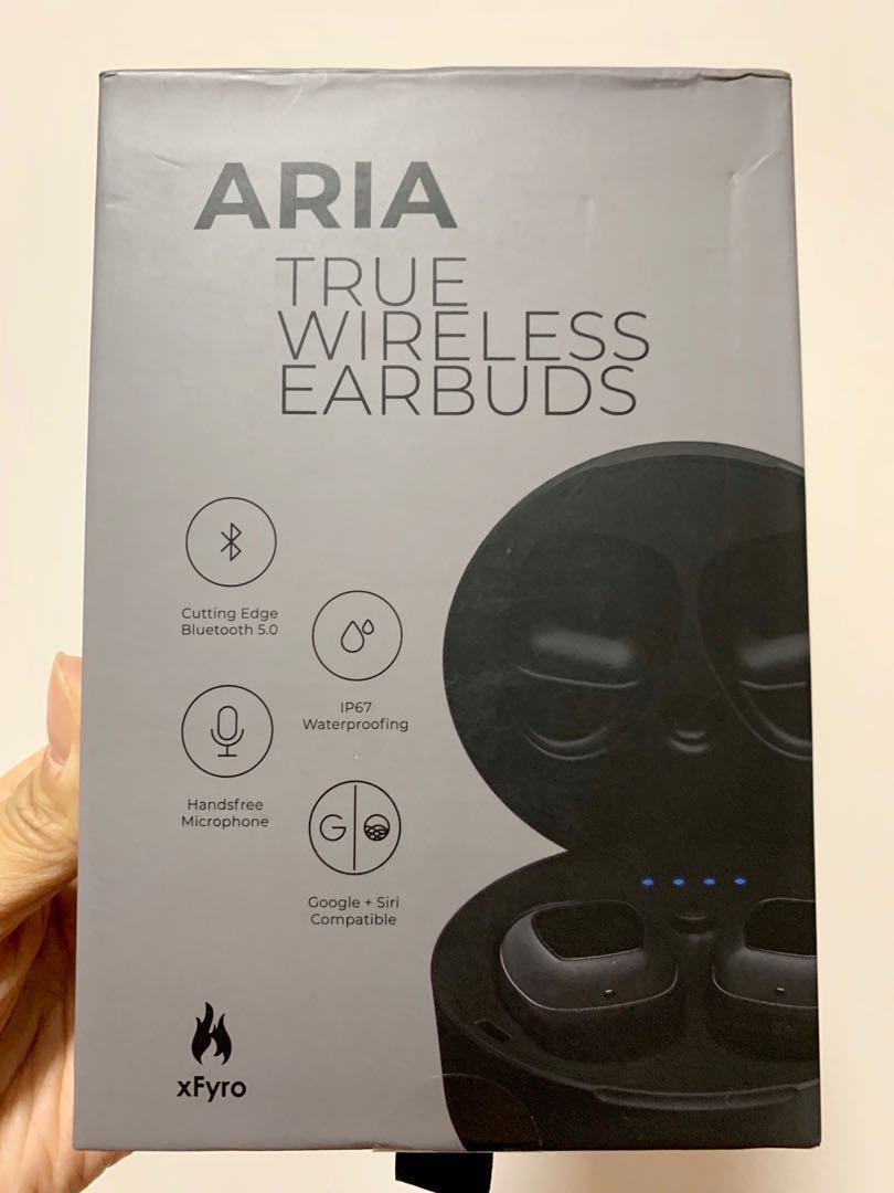 00ba6a914b2 BNIB (Sealed) ARIA Wireless Earbuds + CASE BNIB, Electronics, Audio ...