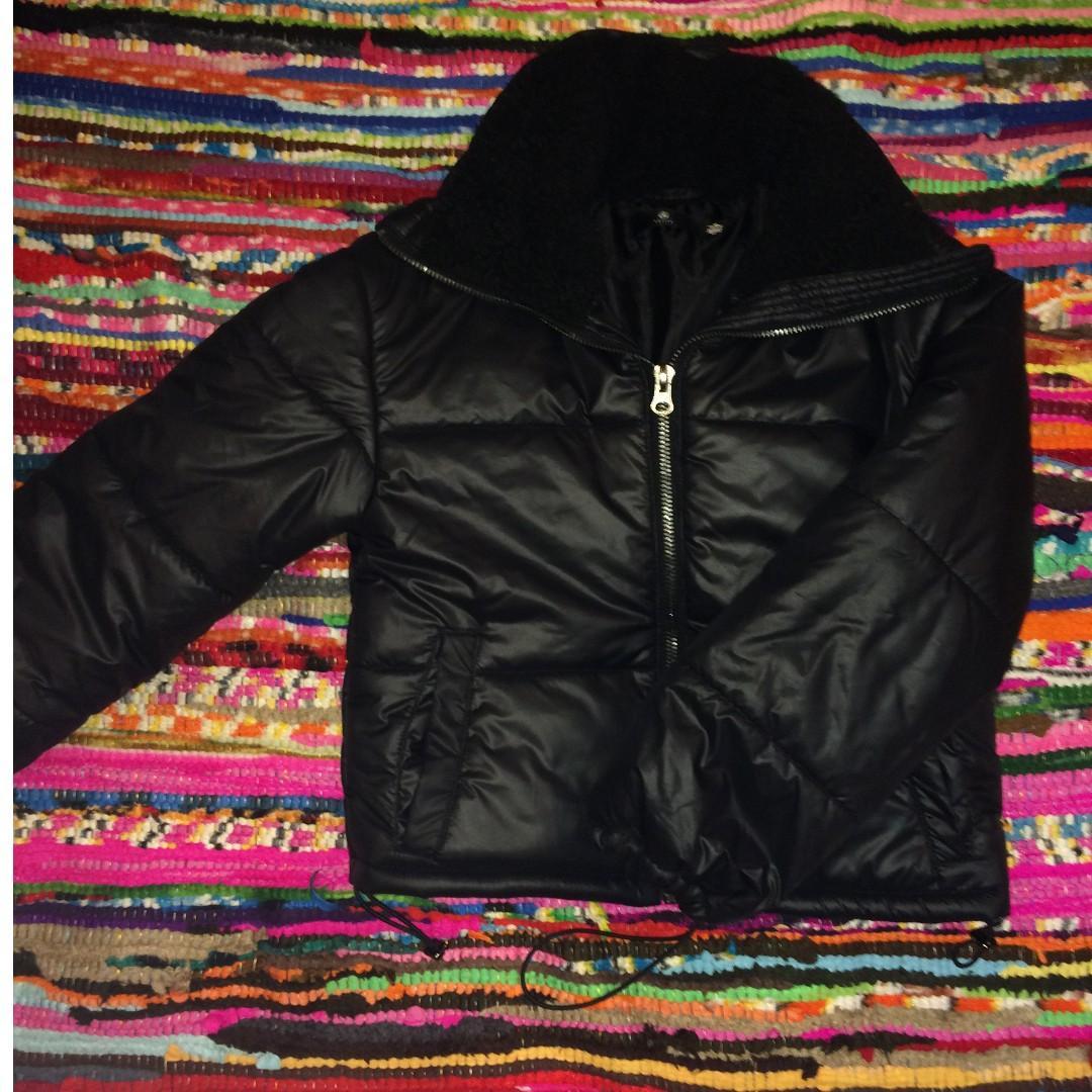 Brand New Cropped/Petite Puffer Jacket Size 8/Small