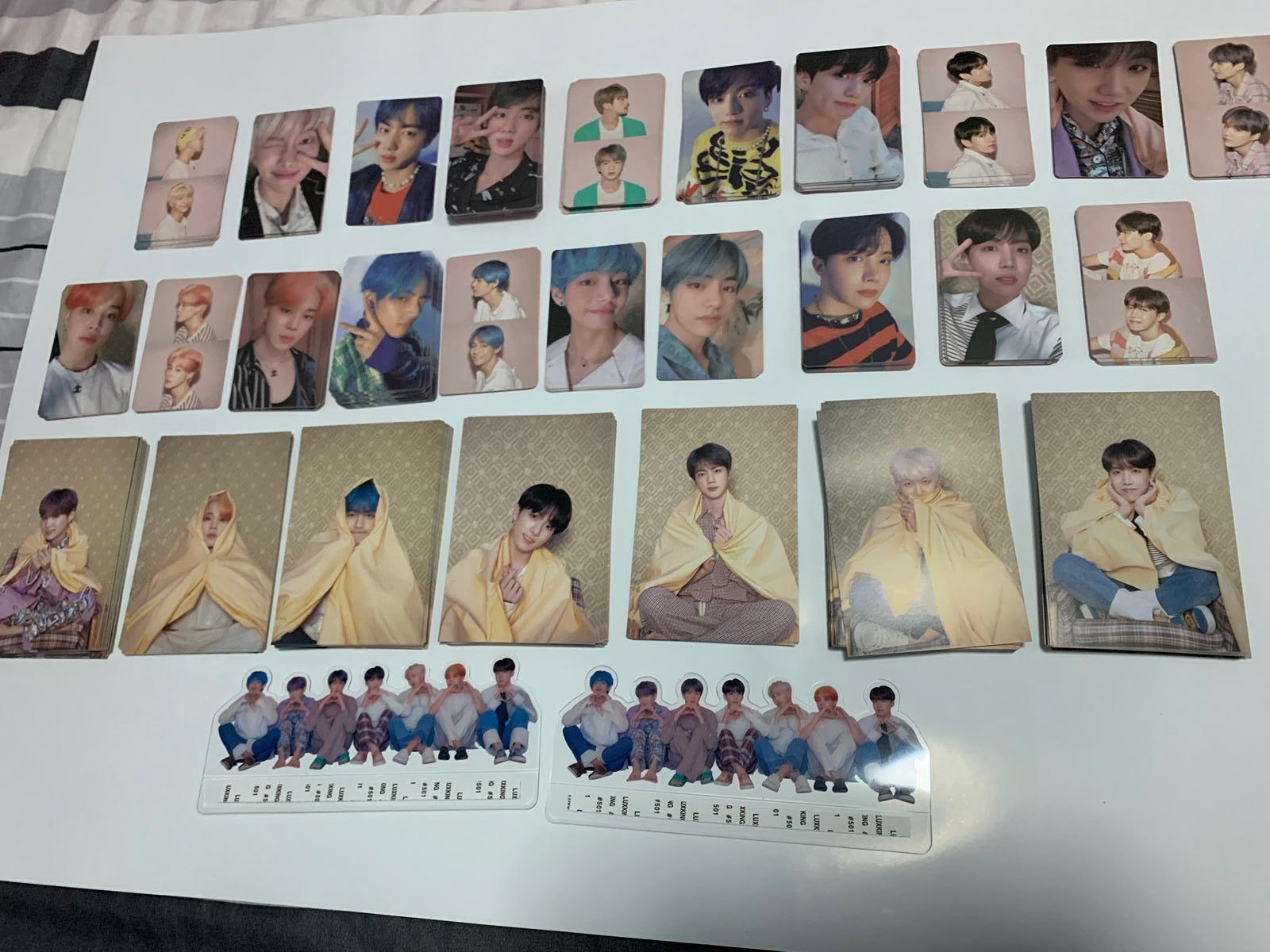 BTS MOTS Persona Photocard / Clear Picket / Postcard