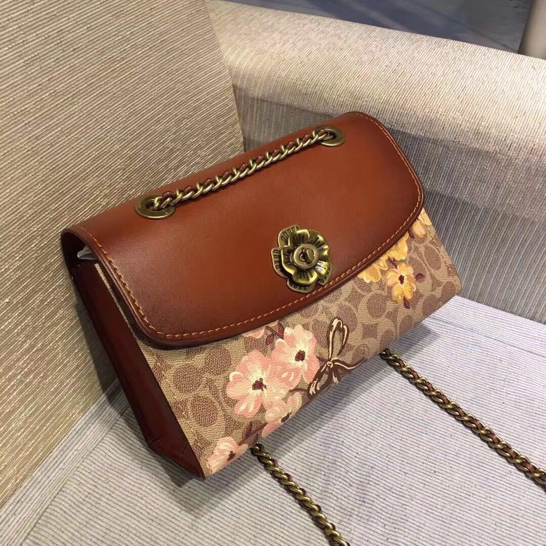 407a9b01 Coach Parker In Signature Canvas With Prairie Floral Print 54649 ...